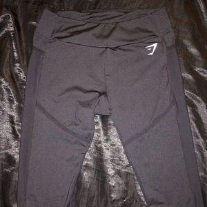 Gymshark Black Mesh Leggings Size Large